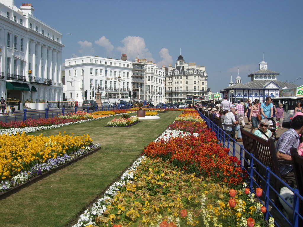 Eastbourne Seafront by Paul Gillett