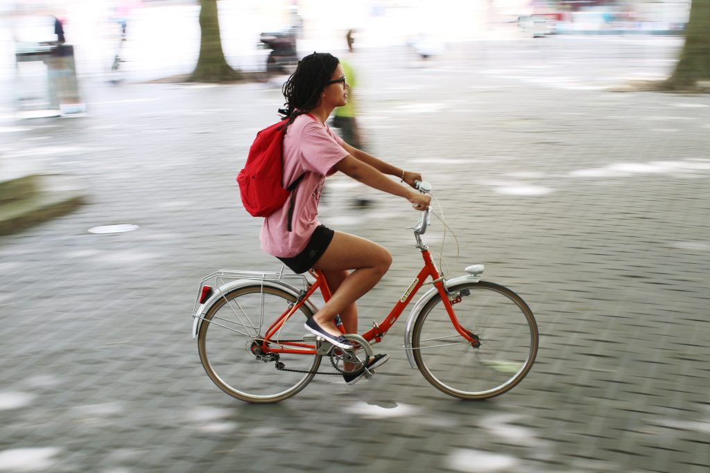 Cycling routes offer a solution to transport problems, but only if the routes are kept safe.